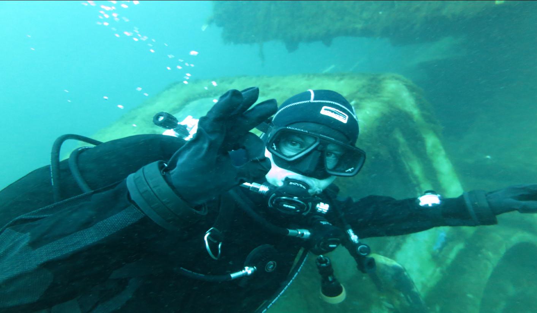 GDL Dry Suite Diver